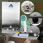 12L 3.2GM PROPANE LPG Gas Tankless Water Heater Instant Boiler Auto Ignition