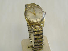 VINTAGE BULOVA AUTOMATIC GENT'S WRIST WATCH,RUNNING, KEEPS TIME