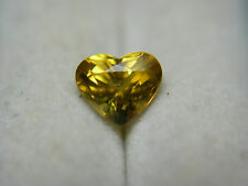 very rare gem Chondrodite gemstone Fancy Heart cut Mogok Brma Natural untreated