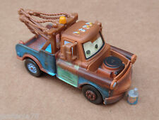 Disney Cars MATER WITH OIL CAN CHASE Loose LENTICULAR