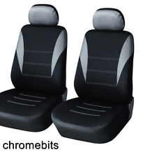 FRONT GREY BLACK FABRIC SEAT COVERS OPEL VAUXHALL INSIGNIA MPV ZAFIRA A B VECTRA