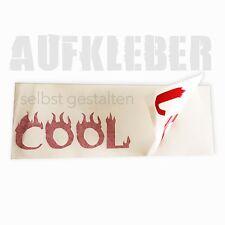 Eigene AUFKLEBER/BUCHSTABEN-STICKER hier selbst gestalten! 150 Schriftmotive! f3
