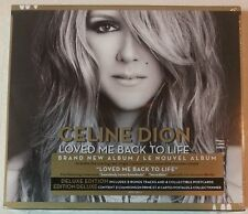 LOVED ME BACK TO LIFE [Deluxe] by CELINE DION (CD, 2013-Canada) BRAND NEW SEALED
