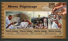 SIERRA LEONE 2015 MECCA PILRIMAGE SHEET  MINT NEVER HINGED
