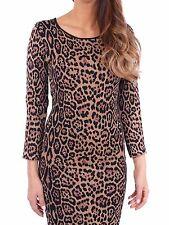 BCBG MAXAZRIA Sheena French Leopard Dress