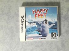 HAPPY FEET 1 * NINTENDO NDS DS DSi 2DS 3DS PAL ITA ITALIANO COMPLETO COME NUOVO