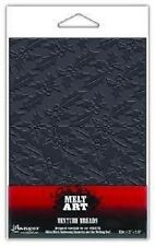 Ranger MELT ART Texture Treads RUBBER SHEET Retro Holly USE WITH UTEE SUT35749