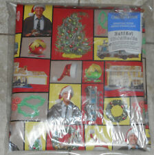 Chevy Chase NATIONAL LAMPOON CHRISTMAS VACATION Wrapping PAPER 20 SQ FT folded