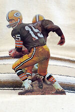 "Bart Starr Green Bay Packers QB NFL Figure Tabletop Display Standee 10 1/2"" Tall"