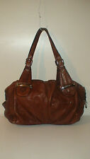 roots  AUTH B. MAKOWSKI   LEATHER HANDBAG $375 RETAIL