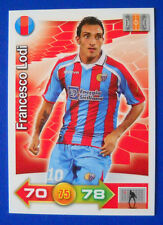 CARD CALCIATORI PANINI ADRENALYN 2011/12 - N. 61 - LODI - CATANIA -new
