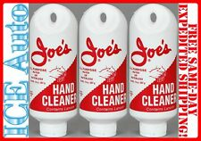 3 PACK - JOE'S ALL PURPOSE  HAND CLEANER RED 14 oz Plastic Squeeze Tube