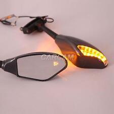 Carbon Turn Signals Mirrors Fit Buell Lighting XB9SX XB12S Firebolt XB9R XB12R