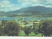 Australia Tasman Bridge & Mt Wellington Postcard 025a