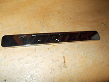 "VORTEC SUPERCHARGER SUPERCHARGED CHROME SELF STICK 7 1/2"" EMBLEM NEW NICE!"
