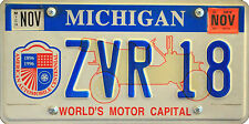 Framed Print - Michigan Centennial USA Number License Plate (Picture Poster Car)