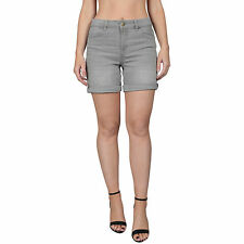Womens High Waisted Relaxed Denim Shorts Ex M&S Collection Ladies Summer Shorts