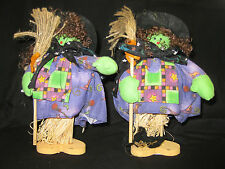Set of 2, Witches, Halloween/Fall Decorations, Shelf/Table Decorations, 8""