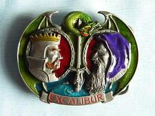 Pagan Themed Belt Buckle/EXCALIBER/Pagan/Magick/Merlin/Arthur/wICCA/wITCH