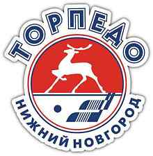 "Torpedo Nizhny Novgorod KHL Hockey Car Bumper Window Locker Sticker Decal 5""X4"""
