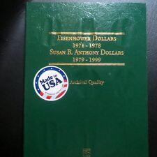 *EISENHOWER 1971-78, ANTHONY DOLLARS 1979-99, COMBO from LITTLETON FOLDER Set#3