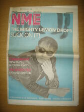 NME 1986 MAY 31 MIGHTY LEMON DROPS COMMUNARDS TONY BENN