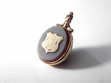 ANTIQUE  BLOODSTONE/ AGATE FOB / LOCKET
