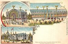 B93948 musee scolaire existant bruxelles belgium litho