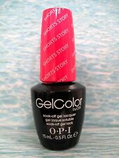 OPI GELCOLOR GC B86 SHORTS STORY ~ THE SHOWSTOPPERS Gel Color Polish .5 oz *NEW