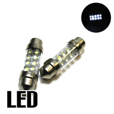 2x Ford Fiesta MK6 1.6 Xenon White LED Licence Number Plate Upgrade Light Bulbs