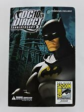 BATMAN figure DC Direct 10th Anniversary 2008 San Diego Comic Con Exclusive SDCC