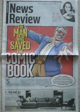 Stan Lee – Sunday Times News Review – 22 November 2015