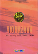 BIOHAZARD TRUE STORY BEHIND JAPAN BOOK SEGA SATURN RESIDENT EVIL CAPCOM ZOMBIE