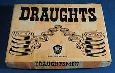Vintage Wooden Draughts made by HPG