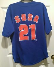 Vintage Genuine Merchandise TRUE FAN CHICAGO CUBS SAMMY SOSA #21 /Jersey Size L