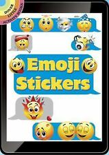 Dover Little Activity Books Stickers: Emoji Stickers by Dover (2016, Book,...