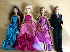 Barbie Princess Charm School Ken Delancy Hadley Blair Transform Dress Doll Set