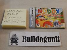 Noddy A Day in Toyland Nintendo Game Boy Advance Manual GBA Only