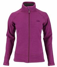Womens Lowe Alpine Wineberry Burgundy Explorer Aleutian Fleece Jacket Size 12