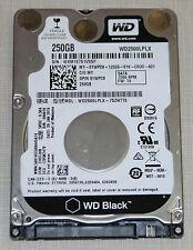 """Western Digital Scorpio Black 250GB  7200RPM 2.5"""" SATA Hard Drive"""