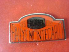 pins pin car rallye monte carlo 1992