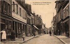 CPA   Villeneuve-sur-Yonne (Yonne) - La Rue des Commerce (Ire Vue)  (357645)