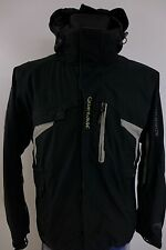 DC829 Men Salomon Advantex Move Recco Snow Skirted Waterproof Ski Jacket Size M