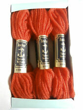 6x Anchor Tapisserie/Tapestry Wool 10m skeins for needlepoint etc. shade 8198