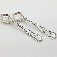 Whiting Manufacturing Co. Sterling Silver LOUIS XV Master Salt & Pepper Spoons
