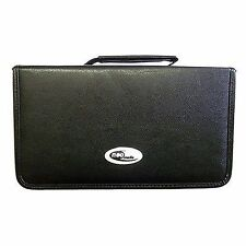 120 Sleeve CD DVD Wallet Carry Case Holder Bag PU Leather Storage Ring Binder
