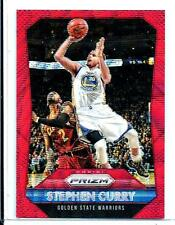 2015-16 Panini Prizm Ruby Wave Refractor Stephen Curry/350 Golden State Warriors