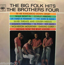 The BROTHERS FOUR The Big Folk Hits LP MONO 1960s