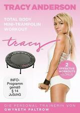 Tracy Anderson - Total Body Mini-Trampolin Workout *DVD*NEU*