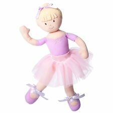 North American Bear Ballerina Doll Blonde Cloth Girls on the Move Ballet 3y+ NEW